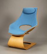 Tadao Ando for Carl Hansen & Søn. Lænestol model, TA001P Dream Chair, hallingdal 723