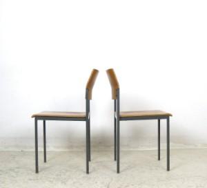 set stapelbare st hle der 1960 70er jahre mit sitz und r cken in schichtholz 76. Black Bedroom Furniture Sets. Home Design Ideas