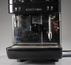 la cimbali kaffemaskine model m1 monteret med to. Black Bedroom Furniture Sets. Home Design Ideas