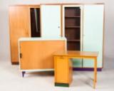 Konvolut Schränke / Schreibtisch / Büromöbel (4)