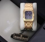 Audemars Piguet 'Royal Oak Rectangular'. Men's watch, 18 kt. gold, c. 1990