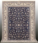 Carpet, Nain with silk outlines, 6La, 290 x 203