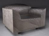 Shiro Kuramata for Vitra. Lounge chair, 'How High The Moon'