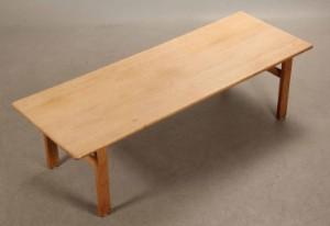børge mogensen sofabord Børge Mogensen sofabord model 262 af massivt egetræ.   Lauritz.com børge mogensen sofabord