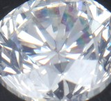 Uindfattet brillantsleben diamant på 1.00 ct