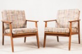 Zwei Easy Chairs / Lounge Sessel (2)