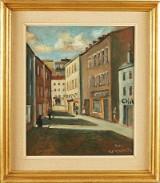 Alf Wesström oljemålning