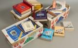 Tre kasser gamle frimærke kataloger (3)