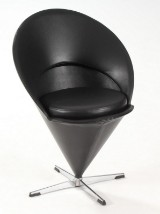 Verner Panton. Stol, Cone Chair. Kræmmerhusstolen