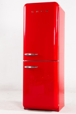 Smeg Kuhlschrank Amerikanisches Modell Rot Lauritz Com