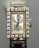 Damarbandsur, Girard Perregaux med diamanter 18k VG