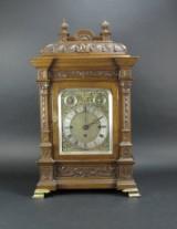 English mantle clock 'Bracket Clock', 19th century