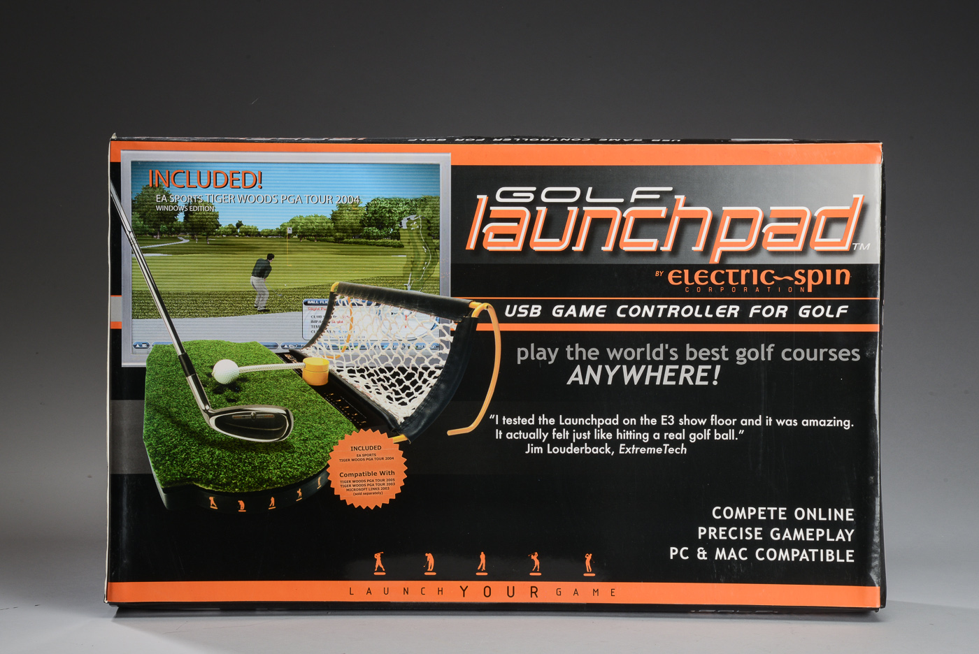 Golf Launchpad electric-spin USB game controle for golf - Golf Launchpad electric-spin USB game controle for golf