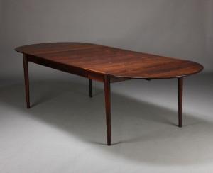 spisebord palisander Slutpris för Arne Vodder. Spisebord, palisander spisebord palisander