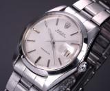 Vintage Rolex 'Oysterdate Precision', steel, pale dial, c. 1972