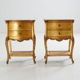 Sängbord Louis XV stil bronserade