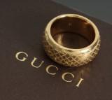 Gucci Diamantissima ring, 18 kt guld