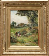 Robert John Hammond (1879-1911), olja på duk, England