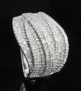 18kt diamond ring approx. 0.95ct