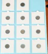 Samling mønter, Danmark