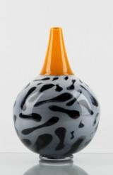 Rolf Sinnemark, vase, graal technique, unique