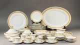 Arnold Krog for Royal Copenhagen. White 'Vifte' dinner and coffee service (51)