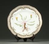 Royal Copenhagen, Flora Danica, tallerken, 1. sort.