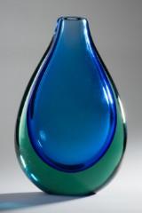 A vase, Flavio Poli, Seguso Vetri D'Arte, glass