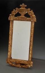 Louis XVI, spejl af forgyldt træ.