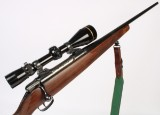 Carl Gustaf 3000 LUX riflekal. 6.5x55 with Leopold Vari-X III 3.5x10--50mm scope, swing mount