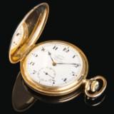 Wempe 'Möwe Uhr' - Savonette pocket watch, gold