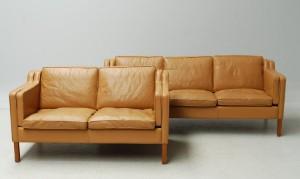 Stouby. Tre- samt to-pers. sofa, model Eva (2) | Lauritz.com