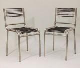 René Herbst 2 Stühle Sandow Stahlrohr (2)