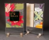 Roldeco S.A. Two Rolex dealer displays (2)