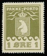 Grønland, P.P. Afa:1 postfriskt pragteksemplar. Att.:Lasse Nielsen.