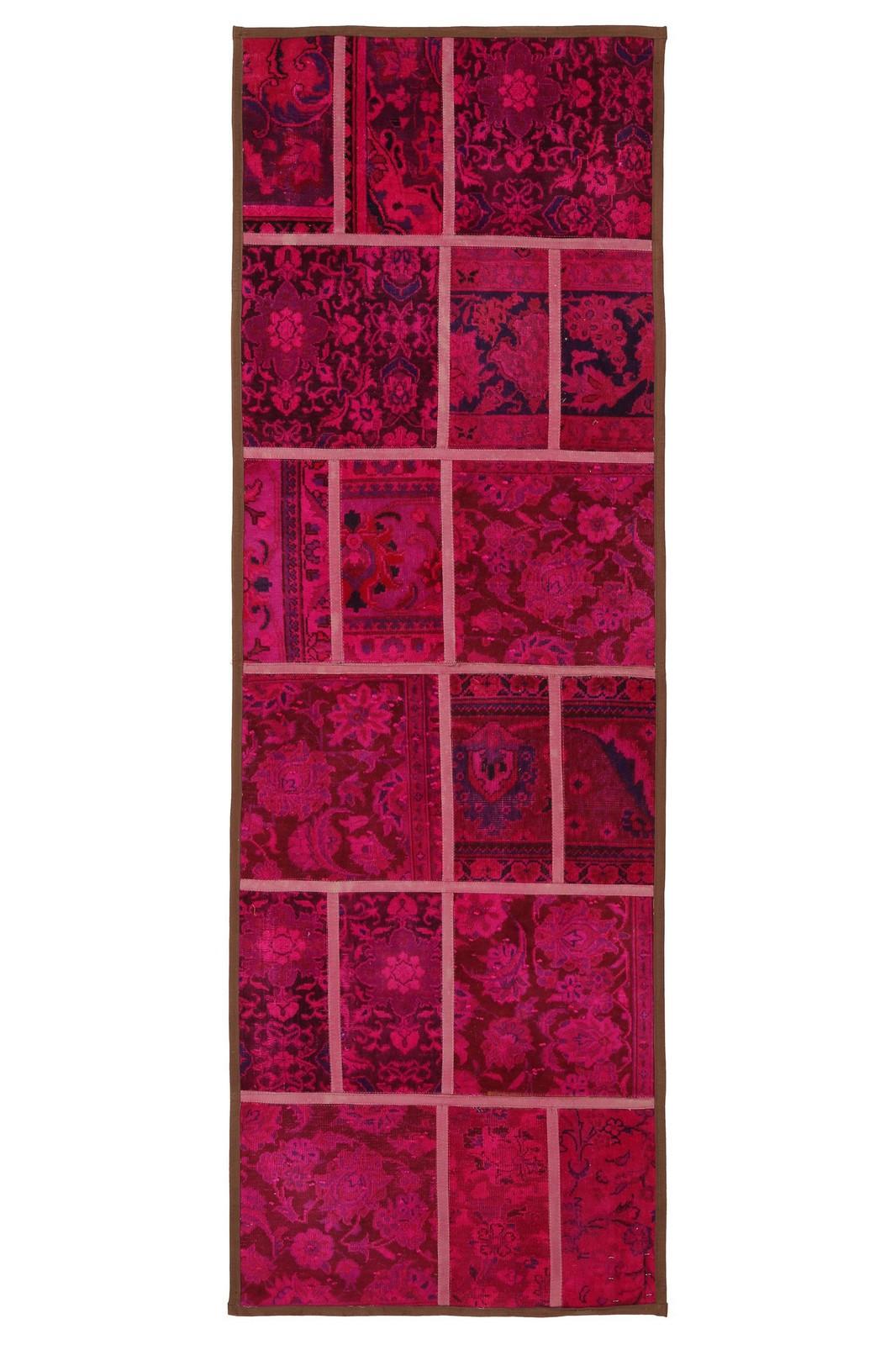 Persisk Patchwork, 240 x 80 cm - Persisk Patchwork, fremstillet af persiske vintage fragmenter. 240 x 80 cm
