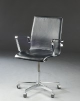 Arne Jacobsen. Oxford office chair with armrests