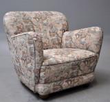 Dansk møbelproducent. Hvilestol fra 1940'erne