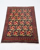 Teppich, orientalische Blumenmotive / Rosenteppich, um 1930, 235 x 165 cm
