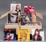 LP-samling, blandede genrer (ca. 500)