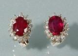 Par rubin- og diamantørestikkere (2)