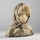 G. Besli, a sculpture / bust, marble