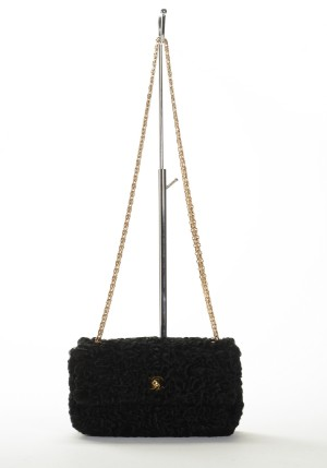 42b29d49775a Chanel shoulder bag with Persian lamp fur, model Lamb Flap Bag. Lot number:  4318481