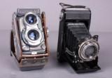 Yashica 44 samt Zeiss Ikon kamera (2)