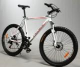 "26"" Mountainbike Hardtail. Hvid, 48 cm stel"