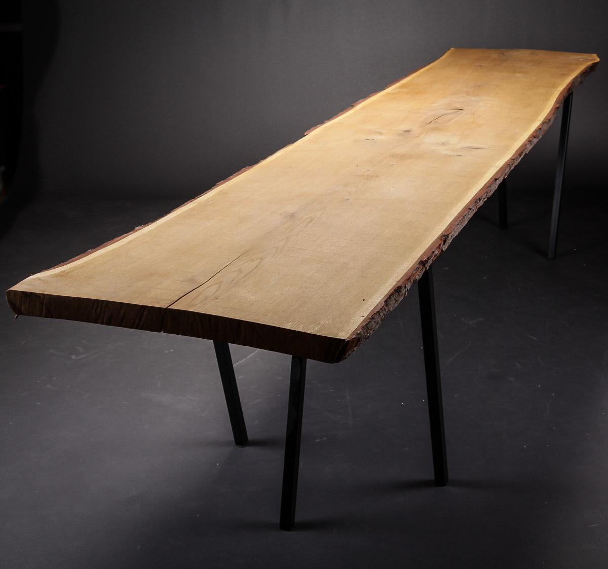 Auktionstipset - Plankebord af massivt egetræ