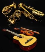 Parti miniatyr instrument, 6 delar (6)