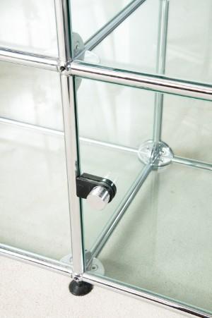 fritz haller paul sch rer vitrine f r usm haller. Black Bedroom Furniture Sets. Home Design Ideas