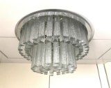 Kalmar Franken KG, large ceiling light, 1970s (2)
