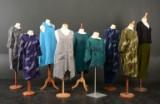 11 dele Uno damebeklædning - tunikaer, kjoler og bukser - ca. str. M og L